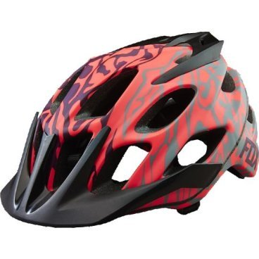 Велошлем женский Fox Flux Womens Helmet Plum