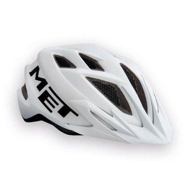 Велошлем подростковый MET Crackerjack, белыйВелошлемы<br>Подростковые шлемы Met соответствуют тем же стандартам качества, которые производитель применяет для взрослых моделей, а кроме того, разработчики стараются не обойти вниманием отношение детей к своему внешнему виду и ношению защиты в целом. С точки зрения функциональности, Crackerjack ни в чём не уступает стандартным кросскантрийным шлемам от Met. Его пенопластовый внутренник впаян в жёсткий корпус – таким образом, шлем представляет собой монолитную конструкцию и обеспечивает лучшую абсорбацию ударов. Сменные внутренние накладки изготовлены из мягкого гипоаллергенного материала, а стропы застёжек – из сверхлёгкого текстиля. Благодаря встроенному светодиодному фонарю езда в тёмное время суток станет ещё безопаснее. Важная особенность шлема, которая, определённо, порадует родителей – это его регулируемый размер – от 52 до 57см.<br><br><br><br>ОСОБЕННОСТИ<br><br><br><br>Максимально лёгкий и технологичный подростковый шлем<br><br>Монолитная конструкция – пенопластовый внутренник впаян в жёсткий корпус шлема<br><br>Сменные внутренние накладки из гипоаллергенного материала<br><br>Вставки из москитной сетки в вентиляционных отверстиях<br><br>Встроенный светодиодный фонарь<br><br>Удобная система регулировки размера – от 52 до 57см<br><br>Вес: 265 граммов<br>
