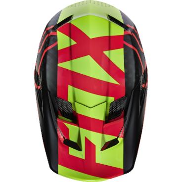 Козырек к шлему Fox Rampage Pro Carbon Visor, красный, пластик, 04119-003-OS