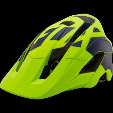 Козырек к шлему Fox Metah Thresh Visor Flow, желтый, пластик, 20308-130-OS