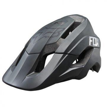 Козырек к шлему Fox Metah Visor, матовый черный, пластик, 17143-255-OS козырек к шлему fox metah visor белый пластик 17143 008 os