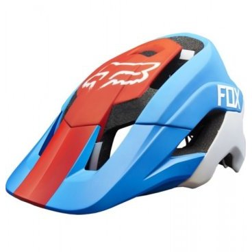 Козырек к шлему Fox Metah Visor, синий, пластик, 17143-189-OS козырек к шлему fox metah visor белый пластик 17143 008 os