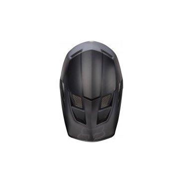 Козырек к шлему Fox Rampage Pro Carbon Visor, матовый черный, пластик, 13392-255-OS