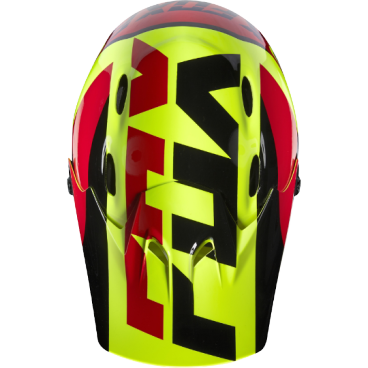 Козырек к шлему Fox Rampage Helmet Visor, желтый, пластик, 17763-005-OS козырек к шлему fox metah visor белый пластик 17143 008 os