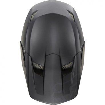 Козырек к шлему Fox Rampage Comp Visor, матовый черный, пластик, 17762-255-OS козырек к шлему fox metah visor белый пластик 17143 008 os