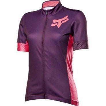 Велофутболка женская Fox Switchback SS Womens Jersey, фиолетовый