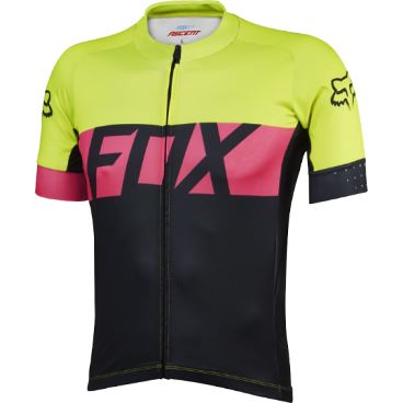 Велофутболка Fox Ascent SS Jersey, желтая