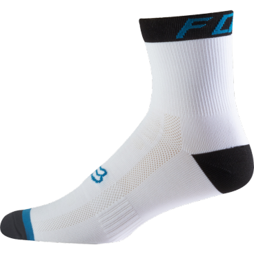 все цены на Носки Fox Logo Trail 6-inch Sock Teal, бело-синий онлайн
