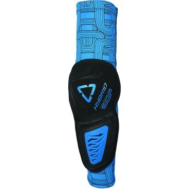 Налокотники Leatt 3DF Elbow Guard Hybrid, черно-синий от vamvelosiped.ru