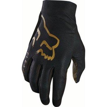 цена на Велоперчатки Fox Flexair Glove Copper, черный (2017)