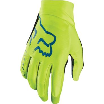 цена на Велоперчатки Fox Flexair Glove Flow, желтый (2017)
