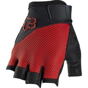Велоперчатки Fox Reflex Gel Short Glove, красный (2016)Велоперчатки<br>Лёгкие и удобные перчатки без пальцев с гелевыми вставками, обеспечивающими амортизацию и дополнительный комфорт при езде. Модель выполнена из дышащего синтетического материала, ладонь отделана двухслойной искусственной кожей Clarino.<br><br>ОСОБЕННОСТИ<br><br>Ладонь из двухслойной искусственной кожи Clarino с мягкими гелевыми вставками<br>Силиконовые накладки на кончиках пальцев для лучшего сцепления<br>Большой палец отделан микрофиброй<br>Удобная компактная застёжка<br>Длина ладони<br>Размер: L (194-200 мм)<br>Размер: M (188-194 мм)<br>Размер: XL (200-206 мм)<br>Размер: S (182-188 мм)<br>Размер: XXL (206-212 мм)<br>
