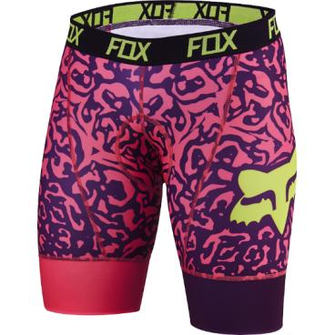 Велотрусы женские Fox Switchback Womens Short, розовый, полиэстер/спандекс