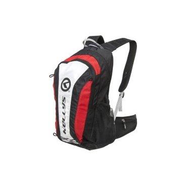 купить Велосипедный рюкзак KELLYS EXPLORE, объем 20 л, влагостойкий полиэстер, молния YKK, черный/красный недорого