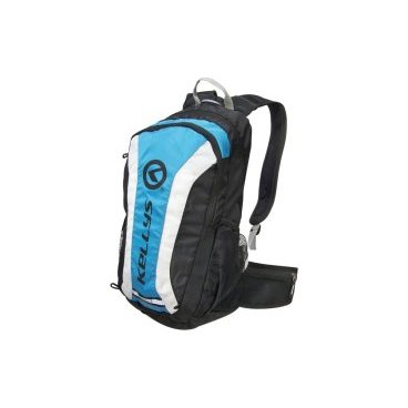 Велосипедный рюкзак KELLYS EXPLORE, объем 20 л, влагостойкий полиэстер, молния YKK, черный/синий