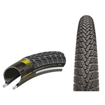 Велопокрышка  Continental Top Contact Winter II Premium, 26 x 1.9 (50-559), зимняя, чёрный, 100712