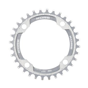 Звезда Kore Narrow Wide Front Chain Ring, 30T, серебристый, KCRFNW0130SAT