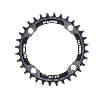 Звезда Kore Narrow Wide Front Chain Ring, 32T, черный, KCRFNW0132BAT