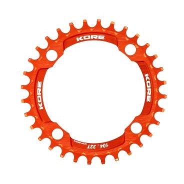 Звезда Kore Narrow Wide Front Chain Ring, 34T, оранжевый, KCRFNW0134OAT