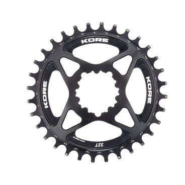 Звезда Kore Narrow Wide Front Chain Ring SRAM, 32T, черный, KCRFNW0232BAT