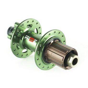 Втулка задняя RIDE DH, 32 отверстия, 12x150 мм, зеленая, алюминий, 267 г, RRDH3212X150GR