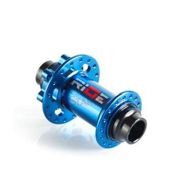 Втулка передняя RIDE Trail QR, 32 отверстия, 100 мм/10 мм ось, голубая, алюминий, 173 г, RFT32100LBL