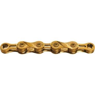Цепь KMC X9L, 9 скоростей, 116 links, золотой, BXL9TI16 запчасть kmc z410 1 2x1 8 116 звеньев