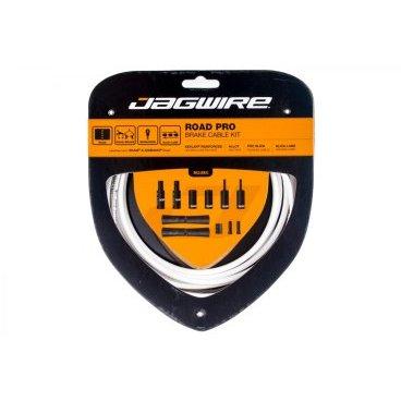 Набор рубашек и тросиков тормоза Jagwire Road Pro Brake Kit, белый, PCK203 тросы для переключения jagwire mountain pro shift комплект для мтв mck225