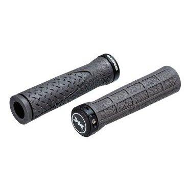 Грипсы Kore Contour Lock-On Grip, 130 мм, кретон, серые, 98 г, KGPCTLK130YAT, арт: 33101 - Ручки и Рога