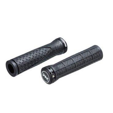 Грипсы Kore Contour Lock-On Grip, 130 мм, кретон, черные, 98 г, KGPCTLK130BAT грипсы wtb clydesdale padloc grip