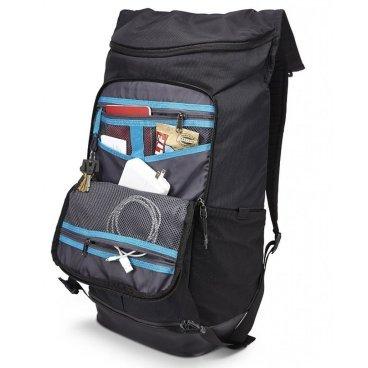 Рюкзак городской Thule Paramount Flapover TFDP-115, 29L, чёрный, 3202036Велорюкзаки<br>Thule Paramount 29L<br>Прочный рюкзак для города с клапаном на застежках превосходно защищает электронику и обеспечивает удобный доступ к содержимому.<br><br>Особенности:<br><br>- Плотный карман для ноутбука специальной формы SafeEdge и клапаном на застежке защитит углы устройства.<br>- Защитный накладной карман с мягкой подкладкой для планшета.<br>- Доступ к ноутбуку и планшету из основного отделения или через боковую молнию.<br>- Вставки со сварными швами в нижней части рюкзака защищают содержимое от влаги и грязи.<br>- Карман с мягкой подкладкой для ценных вещей, например очков или телефона.<br>- Перфорированные лямки с мягкой подкладкой и спинка с вентиляционными отверстиями создают ощущение комфорта при носке.<br>- Прочный нейлон плотностью 420 ден с водостойким покрытием.<br>- Небольшие аксессуары удобно хранить в многочисленных кармашках, а ключи — в специальном футляре<br>- Встроенная система крепления для карабина или велосипедного фонаря.<br>- Удобные язычки на молниях<br>- Чтобы бутылка с водой всегда была поблизости, храните ее в боковом кармане<br>- Нагрудный ремень обеспечивает дополнительную фиксацию тяжелых грузов<br>- Яркие детали внутренней отделки помогут легко найти аксессуары<br><br><br><br>Технические характеристики:<br>Размеры31 x 26.9 x 51.1 см<br>Отсек для ноутбука — размеры24.9 x 2.4 x 36.4 см<br>Вес1.08 kg<br>Объем29 l<br>ЦветBlack<br>МатериалНейлон<br>Название моделиTFDP-115<br>Номер модели3202036<br>
