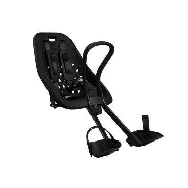 Детское велосипедное кресло Thule Yepp Mini, на руль, черный, 12020101