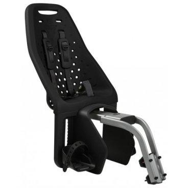 Детское велосипедное кресло Thule Yepp Maxi Seat Post, на раму, заднее, черный, 12020231