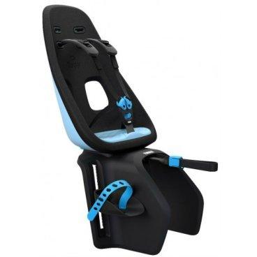 Детское велосипедное кресло Thule Yepp Nexxt Maxi, на багажник сзади, голубой, 12080204