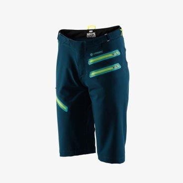 Велошорты женские 100% Women's Airmatic Short w/liner, зеленый (2018)