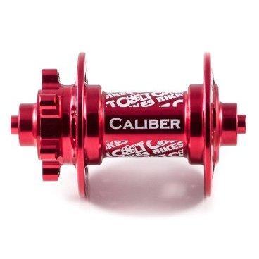 Втулка передняя 16 Colt Bikes Caliber, QR, красный, 32H, CB16-CAL-F-QR-RDВтулки для велосипеда<br>Новый более жесткий и прочный корпус. Простая конструкция позволяет использовать втулку практически на всех современных вилках. Сменные чашки легко конвертируют втулку в один из трех стандартов: QR-эксцентрик, ось 15мм или ось 20мм (приобретаются отдельно). <br><br>Особенности <br>Алюминиевый корпус AL6061 T6 <br>Алюминиевая ось AL6061 T6 <br>Крепление QR-эксцентрик <br>Промышленные закрытые подшипники <br>Вес 197г <br><br>Технические параметры <br>От левого края до центра левого фланца: 29мм <br>Расстояние между фланцами: 58мм <br>Диаметр по отверстиям фланца: 57,6мм <br>Толщина фланца: 3мм <br>Диаметр отверстий под спицы: 2,55мм <br>Подшипники: 6804 х2шт<br>