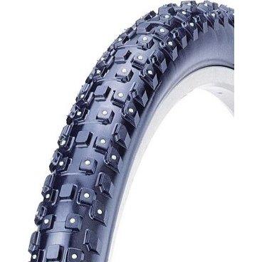Велопокрышка KENDA KLONDIKE WIDE K1013, МТБ, 26х2.10 (54-559), кевларовый корд, 60TPI, 5-528116Велопокрышки<br>Покрышка зимняя Kenda Klondike, размер 26x2.10, шипованная, 4-х рядная 252 шипа, специальный компаунд для перепада температур, для зимнего катания на велосипеде, примерный вес 1240 грамм<br>