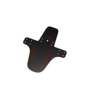 Мини-крыло переднее Gorilla, короткое, пластик, 1 мм, 3D красная графика