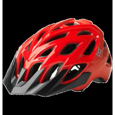 Велошлем KALI Chakra, черно-красный