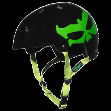 Велошлем KALI Maha Kali Logo, зеленый