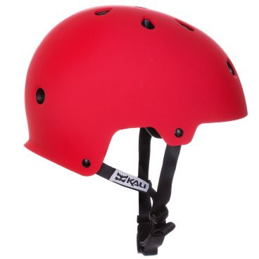 Велошлем KALI Maha Solid, красный