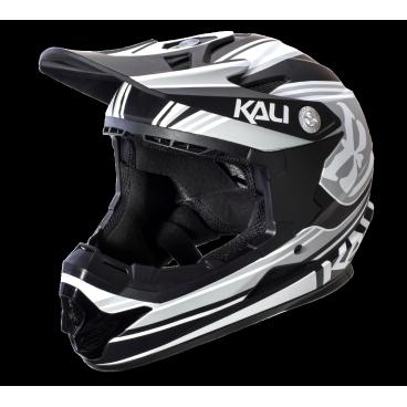 Велошлем KALI Naka Slash, серо-черный aluminum alloy bicycle cnc front fork washer red 28 6mm