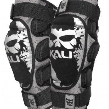 Защита колена KALI Aazis Soft 14', черно-серый контратака лучшая защита нападение