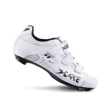 Велообувь Lake CX160-X, бело-черный