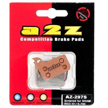 Тормозные колодки A2Z Avid road RED 22/S-700, золотистый, AZ-297S