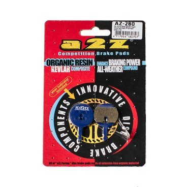 Тормозные колодки A2Z Avid Ball Bearing 5 mechanical/Promax DSK-710, синий, AZ-280 тормозные колодки bbb discstop comp w avid code code 5 w spring синий bbs 44