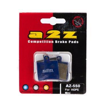 Тормозные колодки A2Z Hope Mini, синий, AZ-550 кольцо коюз топаз кольцо т703016392