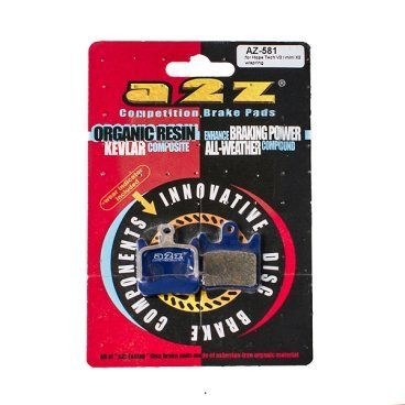 Тормозные колодки A2Z Hope Tech V2/ mini X2, синий, AZ-581 тормозные колодки барабан форд фиеста 1991