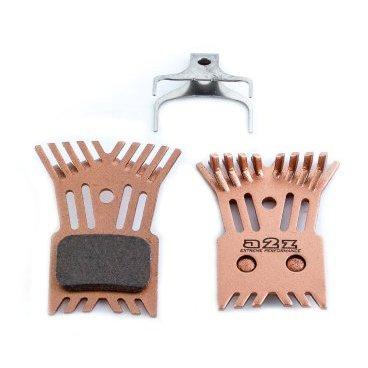 Тормозные колодки A2Z Shimano Direct-Mount R9170/U5000/RS805/505, с радиатором, золотистый, AZ-625KS барабанные задние тормозные колодки на хонду фит