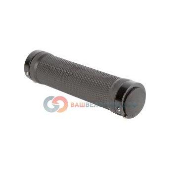 Ручки на руль велосипедные резиновые 135мм черные 5-410480